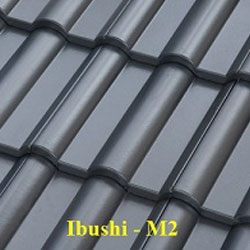 Ngói màu Fuji Ibushi M2