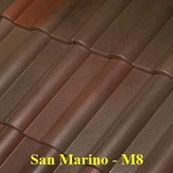 Ngói màu Fuji San Marino M8