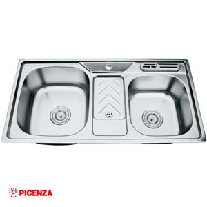 Chậu rửa bát Inox Piceza PZ9 9046B