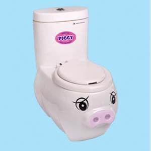 Bồn cầu Thiên Thanh Piggy P0217TS2T