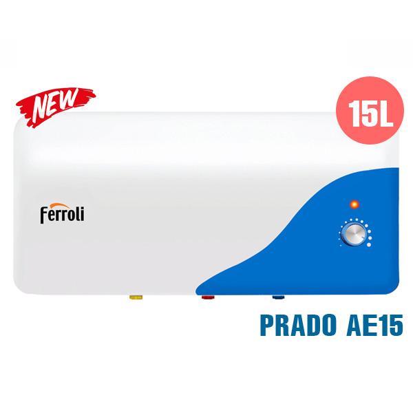 Bình nóng lạnh Ferroli Prado AE 15L