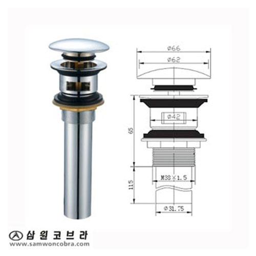 Xi phông chậu kính Samwon ML-131