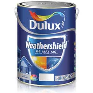 Sơn Dulux ngoài trời  Weathershield