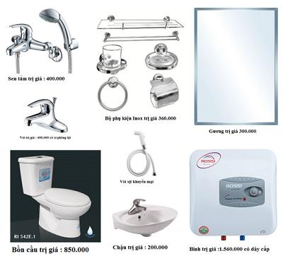 Thiết bị vệ sinh giá rẻ HM005