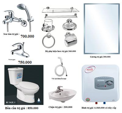 Thiết bị vệ sinh giá rẻ HM006