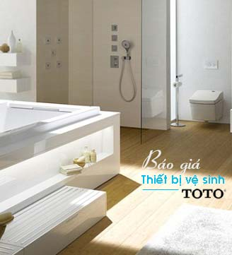 Báo giá thiết bị vệ sinh TOTO