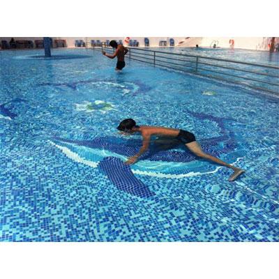 Gạch tranh bể bơi Mosaic TMS 319