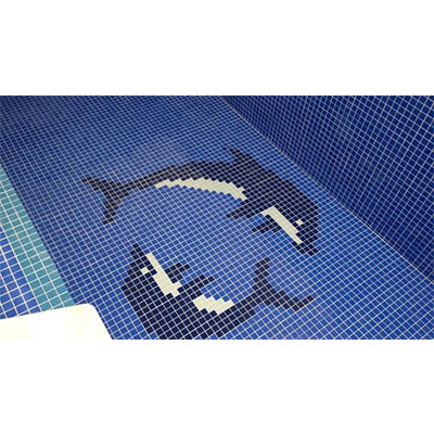 Gạch tranh bể bơi Mosaic TMS 320