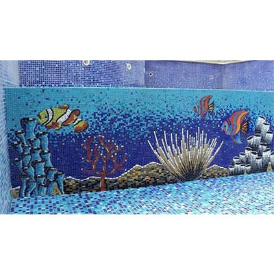 Gạch tranh bể bơi Mosaic TMS 332
