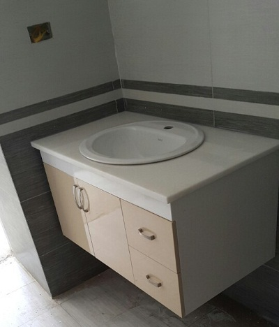Bộ tủ chậu PVC may đo theo kích thước 20