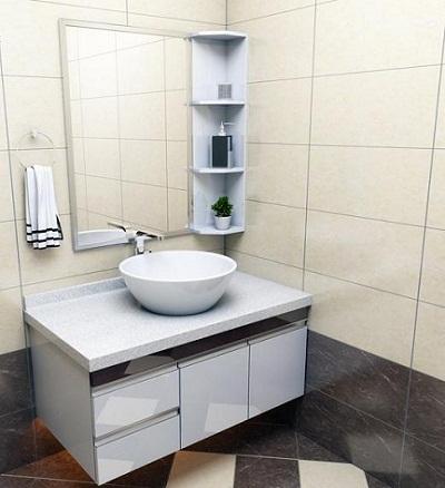 Bộ tủ chậu PVC may đo theo kích thước 25