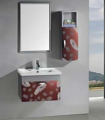 Bộ tủ chậu inox Bross S-0206