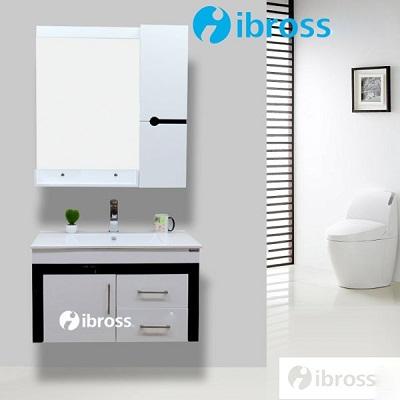 Bộ tủ chậu PVC cao cấp BROSS X003