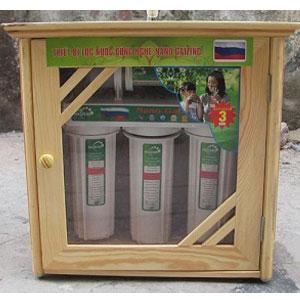 Tủ Gỗ máy lọc nước