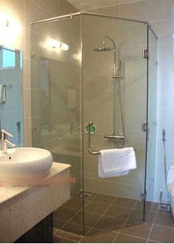 Vách kính nhà tắm VK 04