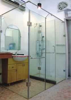 Vách kính nhà tắm VK 03
