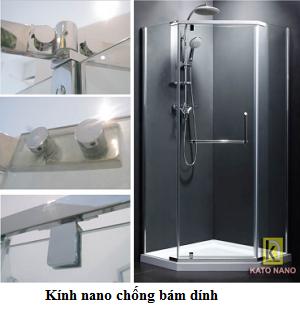 Phòng tắm vách kính Kato Nano CKT-02